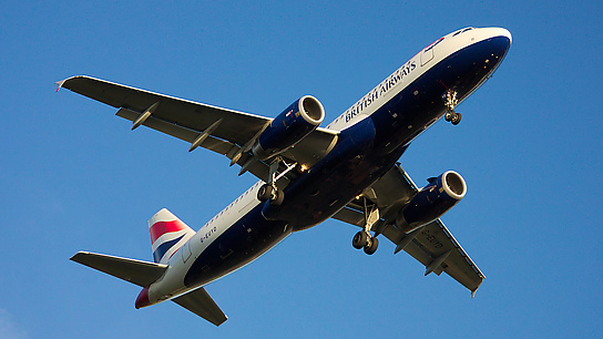 G-EUYD ✈ British Airways Airbus A320-232