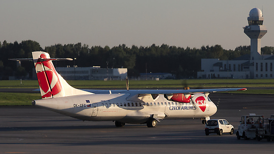 OK-XFC ✈ Czech Airlines ATR 72-202