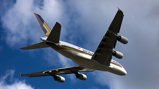 9V-SKC ✈ Singapore Airlines Airbus A380-841